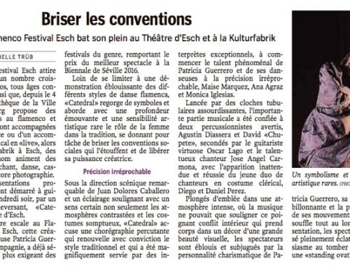 Luxemburger Wort – Brises les conventions